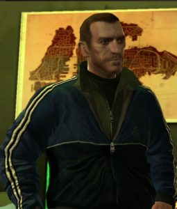 GTA IV Niko Bellic Blue Jacket