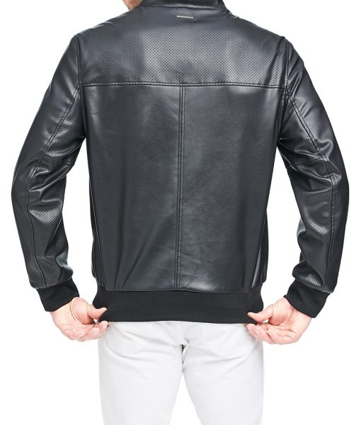 Henry Leather Bomber Jacket