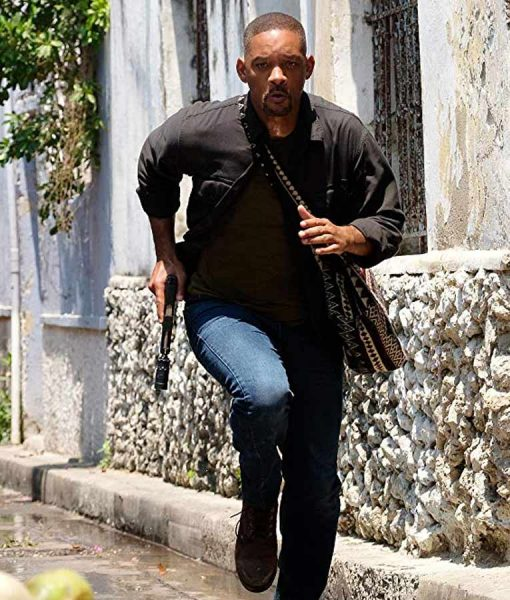 Gemini Man Will Smith Cotton Jacket