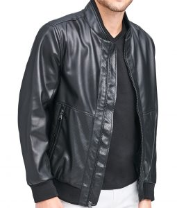 Henry Bomber Black Jacket