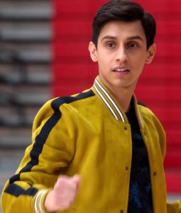 Frankie A. Rodriguez High School Musical Carlos Bomber Jacket