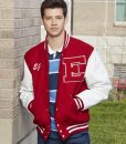 Matt Cornett High School Musical EJ Letterman Bomber Jacket