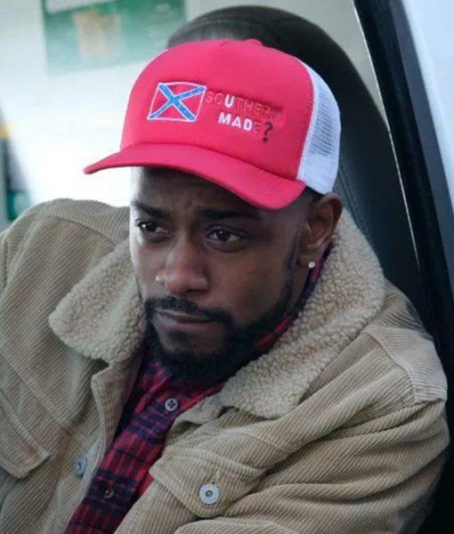 Atlanta Darius Fur Collar Jacket