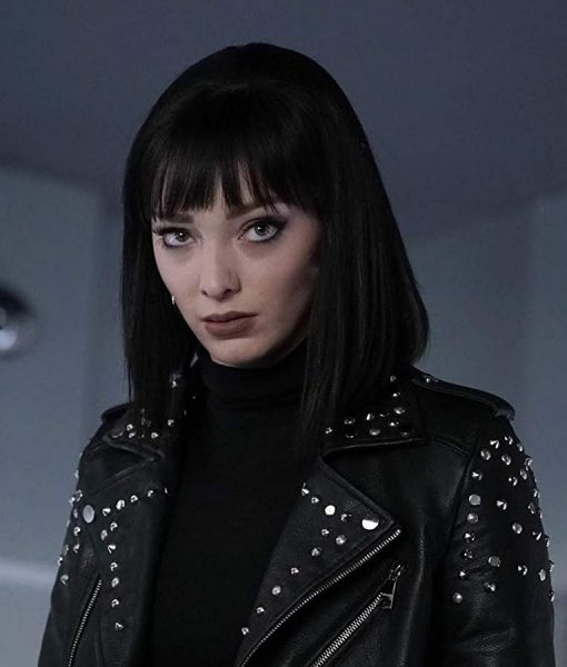 The Gifted s02 Emma Dumont Studded Jacket