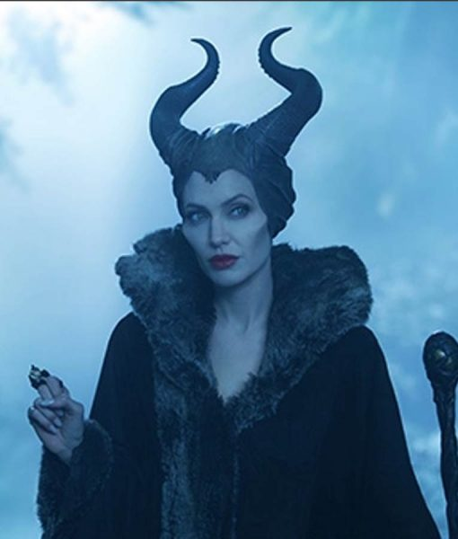 Maleficent 2 leather jacket