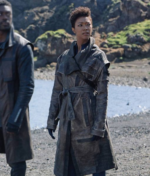 Michael Burnham Star trek Discvery s03 Coat