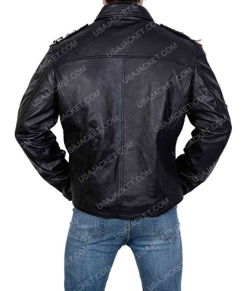 King of Pop Michael Jackson Will you be There Leather Jacket