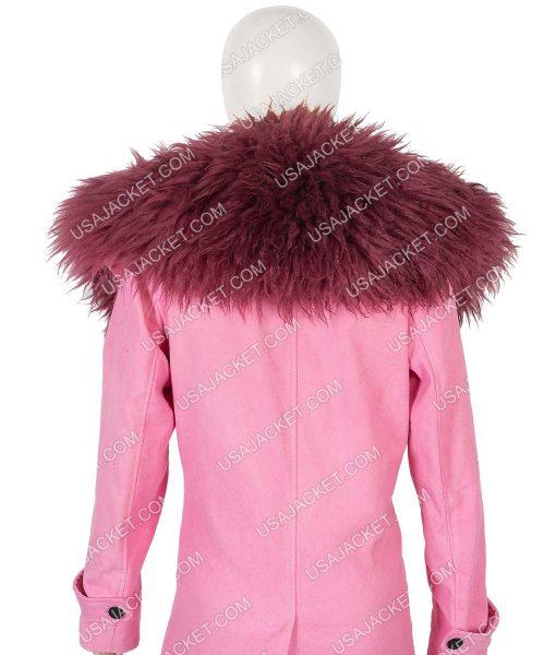 Anne Hathaway Modern Love Fur Collar Lexi Coat