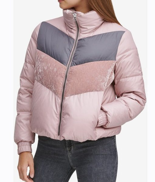 Odeya Rush Let It Snow Puffer Jacket