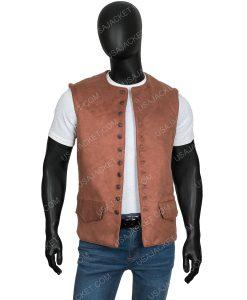 Outlander Season 03Sam Heughan Brown Vest