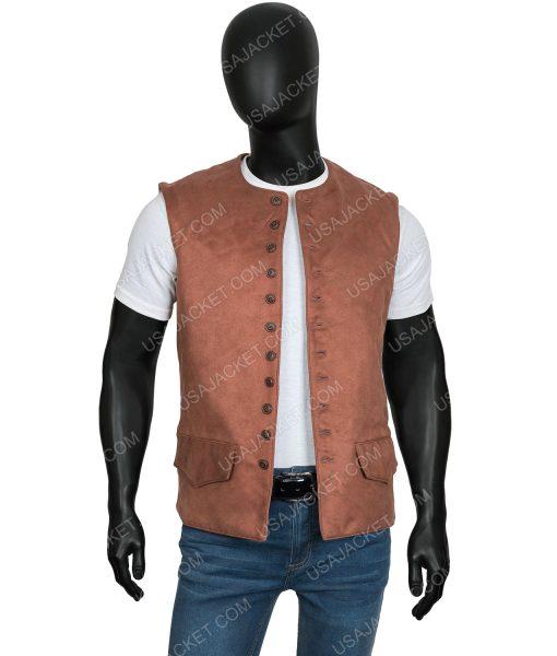 Outlander Season 03 Jamie FraserBrown Vest
