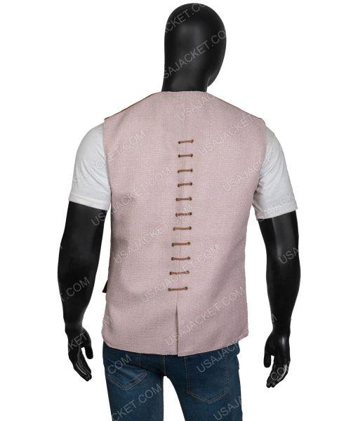 Outlander Season 03 Jamie FraserSuede Vest