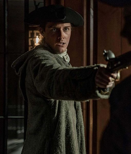 Fergus Long Coat With Hood