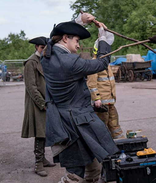 Outlander S04 David Berry Coat