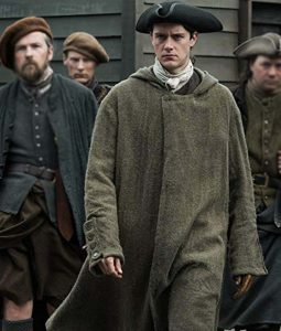 Outlander Season 04 César Domboy Coat with hood