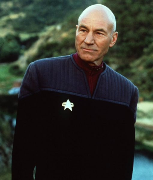 Patrick Stewart Cotton Picard Jacket