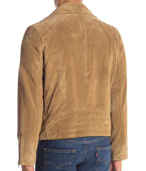 Paul Suede Leather Motorcycle Jacket