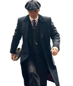 Thomas Shelby Coat Cillian Murphy Black Coat