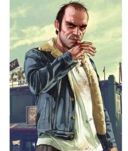 GTA V Philips Shearling Denim Jacket