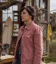 Phoebe Fox Curfew Pink Denim Jacket