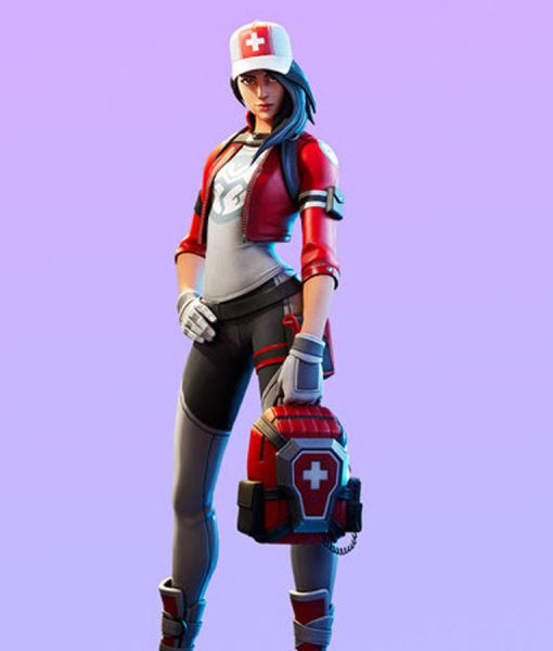 Fortnite chapter 2 Red Cropped Jacket