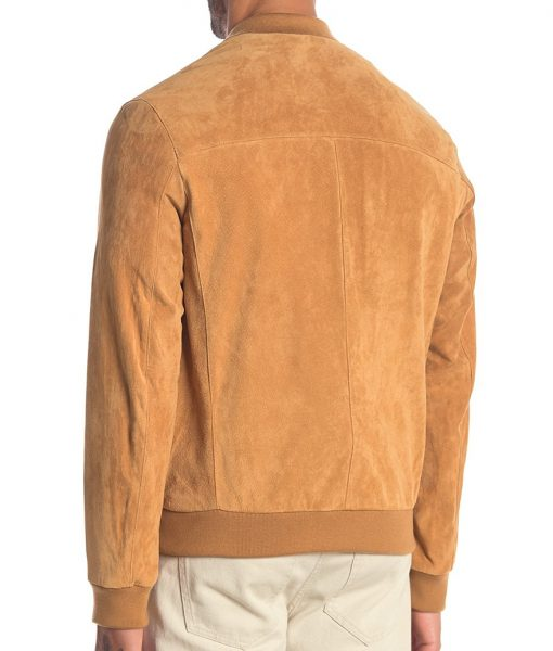 Robert Suede Varsity Jacket
