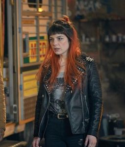 Ruby Newman Black Leather Jacket