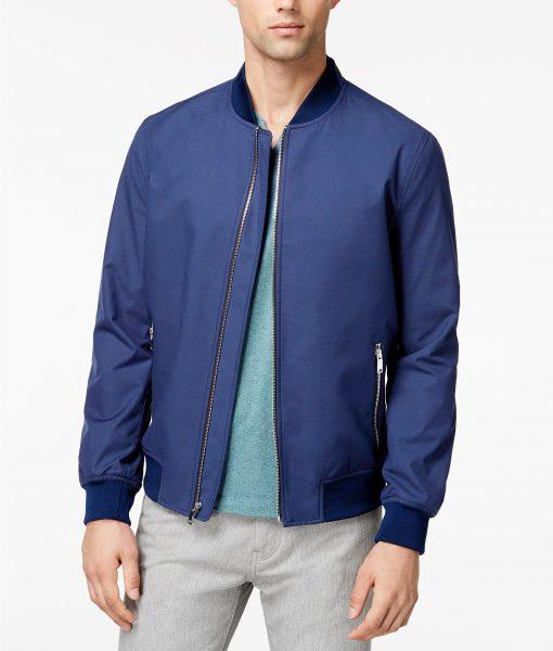 Ryan Reynolds 6 Underground Blue Jacket