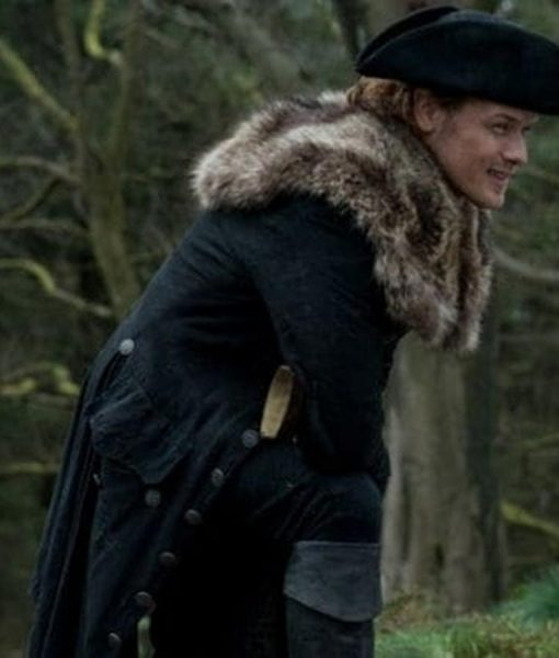 Jamie Fraser Fur Coat