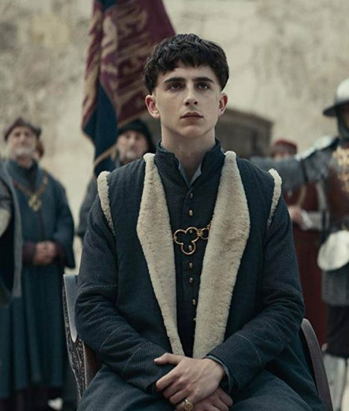 Shearling King Henry V of England 'Hal' The King Coat