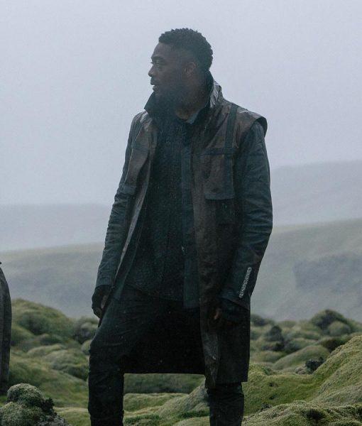 Star trek Discovery s03 David Ajala Leather Coat