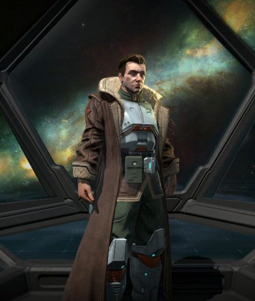 Star Union Commander Age of Wonders Planetfall Trench Coat