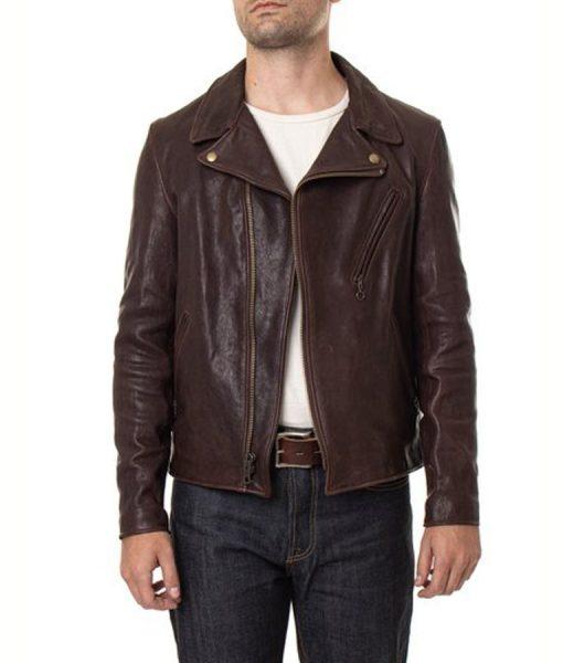 Stephen Lambskin Leather Jacket