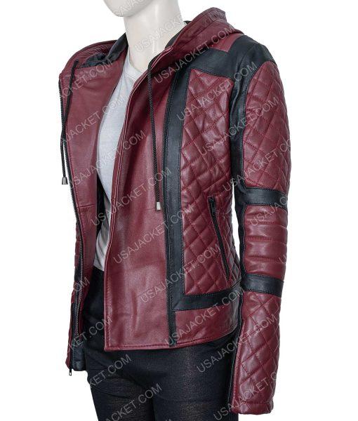 Taylor Harding Why Women Kill Leather Jacket