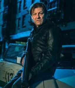 Curfew Black Leather Jacket