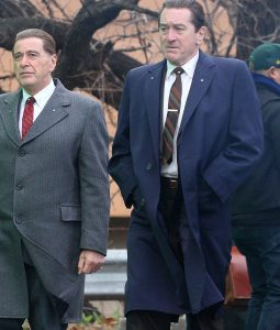 The Irishman Blue Cotton Coat