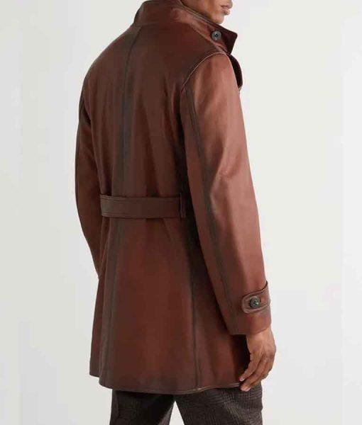 The King's ManDuke of Oxford Leather Jacket