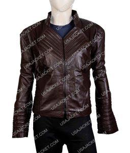 Womens Dark Brown Leather Jacket