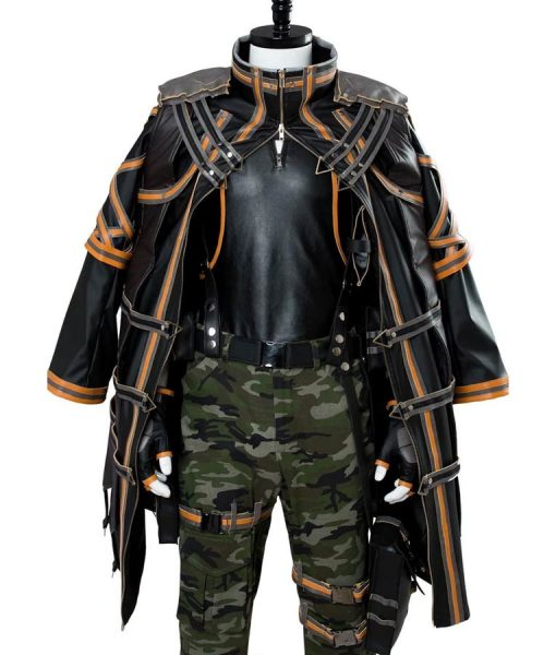 Yakumo Leather Gaming Coat