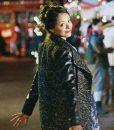 Black leather Abby Sutton Coat