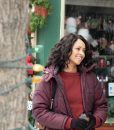 Abby Sutton The Holiday Calendar Maroon Jacket