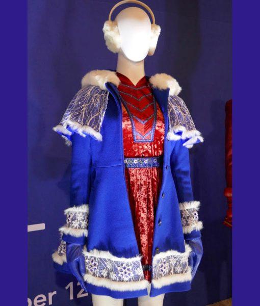 Noelle Blue Coat