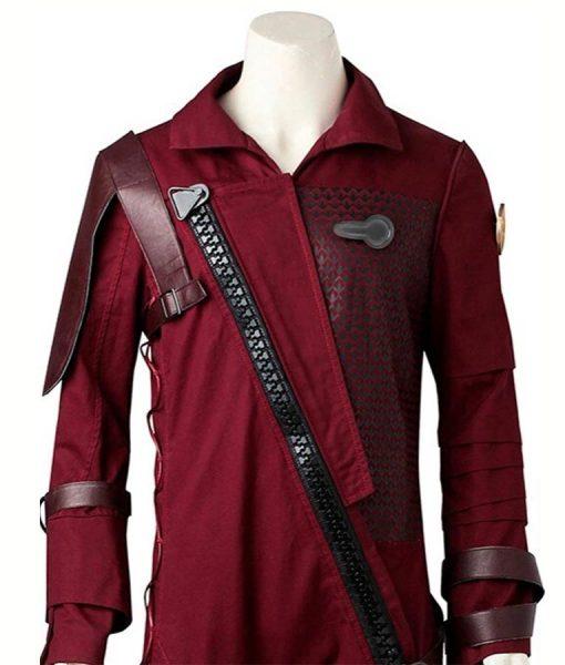 Baby Groot Maroon Jacket