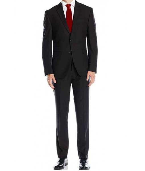 Agent 47 Black Dinner Suit