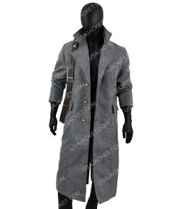 The Hunter Grey Trench Coat