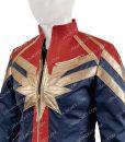 Cafe Racer Captain Marvel Jacket