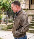 Hank Voight Cafe Racer Leather Jacket