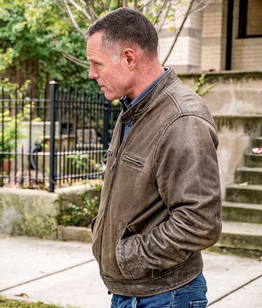 Chicago P.D Hank Voight Leather Jacket