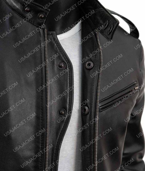 Chicago P.d. Antonio Dawson Leather Jacket