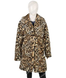 Christmas Kate Animal Printed Coat